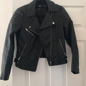 H&M Black Moto jacket